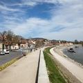 Újabb korlátozás: csak szentendreiek használhatják a Duna-parti kerékpárutat