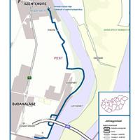 Letették az alapkövet: épül az Eurovelo 6 kerékpárút Szentendre és Budapest között
