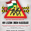 Autós demonstráció indul Szentendréről szombat délután