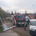 Durva csattanás - videón a szentendrei tűzoltóautós baleset