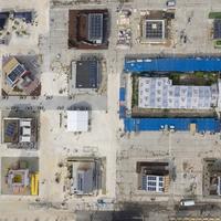 Tizennégy nap alatt épült fel az energiatakarékos mintaházpark Szentendrén