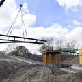 Beemelték a Budapest-Szentendre közötti kerékpárút hídjának elemeit