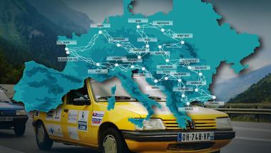 Nálunk is megállnak az Europ' Raid jótékonysági autós túra résztvevői