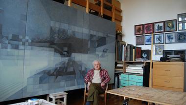 Megnyílt Lukoviczky Endre festőművész kiállítása a szentendrei ÚjMűhely Galériában