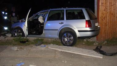 Súlyos baleset történt éjjel az Ady Endre úton