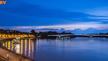 Január végéig kell döntenie a városvezetésnek, hol épüljön Szentendrén kerékpáros híd