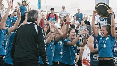 Szentendrei csapat nyerte a strandkézilabda Bajnokok Kupáját