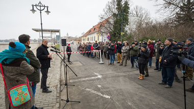 Fülöp Zsolt: Téves állításokat közölt Révész Máriusz a híd ügyében