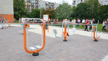 Átadták az első Fitness Parkot Szentendrén