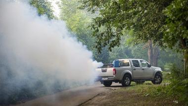 Augusztus 14-én ismét gyérítik a szúnyogokat a városban