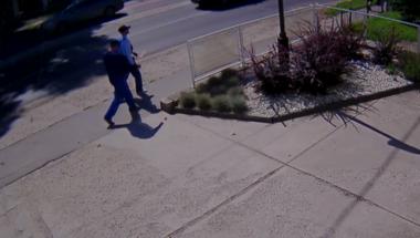 Térfigyelő kamera is rögzítette a szentendrei tolvajokat