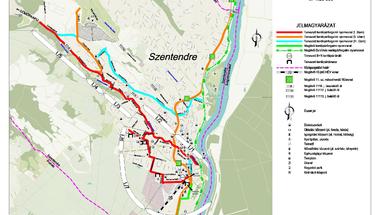 Komplett biciklihálózat építésébe kezd Szentendre