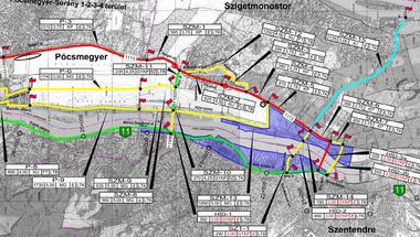 Felpörög a Dunakanyarban az új kerékpárutak építése