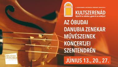 Szentendrén szerenádozik az Óbudai Danubia Zenekar