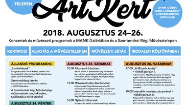 ArtKert - összművészeti fesztivállal készül hétvégén a MANK Galéria