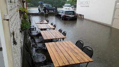 A katasztrófavédelemhez fordul Szentendre a belvárosi elöntés miatt