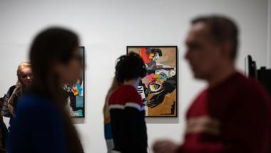 Tizenegy: a Bükki Művésztelep alkotásaiból nyílt tárlat a MANK Galériában