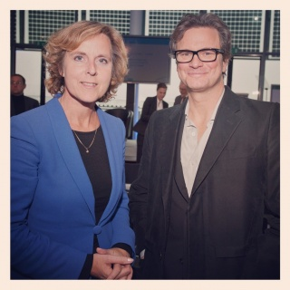 Connie Hedegaard & Colin Firth