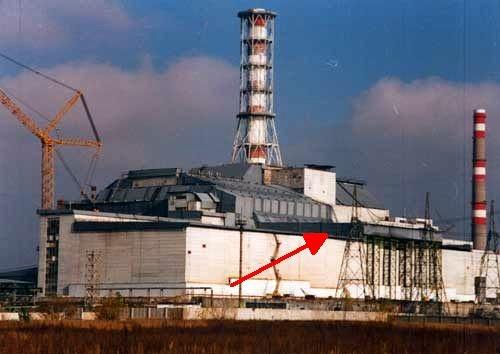 Csernobil szarkofág