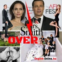 The American Dream Called BRANGELINA IS OVER! - Breaking News és ANGOL SZÖVEGÉRTÉS FELADAT - angol középfokú nyelvvizsga (B2) feladat SZÓSZEDETTEL
