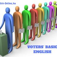 SZAVAZÁSI ANGOL! 10 alapvető angol kifejezés szavazóknak! VOTING BASICS - matching exercise