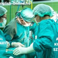 ANGOL NYELVVIZSGA SZÓKINCS - teszteld magad nyelvvizsga témakörökből KÖZÉPFOKON (B2) - HOSPITAL - Part 2 - KÓRHÁZ