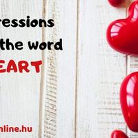 VALENTIN-NAPI interaktív ANGOL: 15 kifejezés a HEART szóval