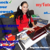 CHECK YOUR English HOMEWORK with ME - meet & greet Ms myTutor! - PRESENT PERFECT: simple or continuous?