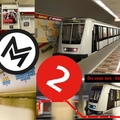 BKK/BKV ANGOL - BKK English - M2 - the RED LINE - METRO LINE 2
