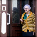 A SWANSEA woman's love affair with her cardigan shows no signs of unravelling.