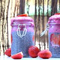 Chia puding smoothie-val