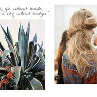 Summer plants-summer hair