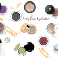 The most beautiful cream eyeshadows!