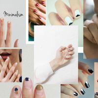 Minimal nail art III.