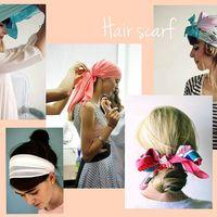 Lovely hair scarves
