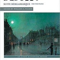 {* UPDATED *} Suite Bergamasque (Alfred Masterwork Edition). Because sobre Encima Drive Garras Horizon