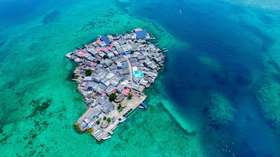 Varázslatos szigetvilág húzódik Kolumbia határában