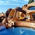 Pierre Cardin magyar tervezésű buborékvillája Cannes-ban