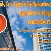 Nemzeti fül- orr- gégészeti kongresszus