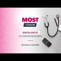 Telekom MOST fórum: Kerekasztal-beszélgetés az egészségügy digitalizációjáról