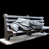 Hajléktalanság a Batthyány téren
