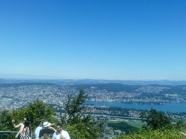 Egy nyár Zürichben