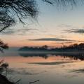 Fotócsütörtök - A Tisza partján, nem sokkal naplemente után...