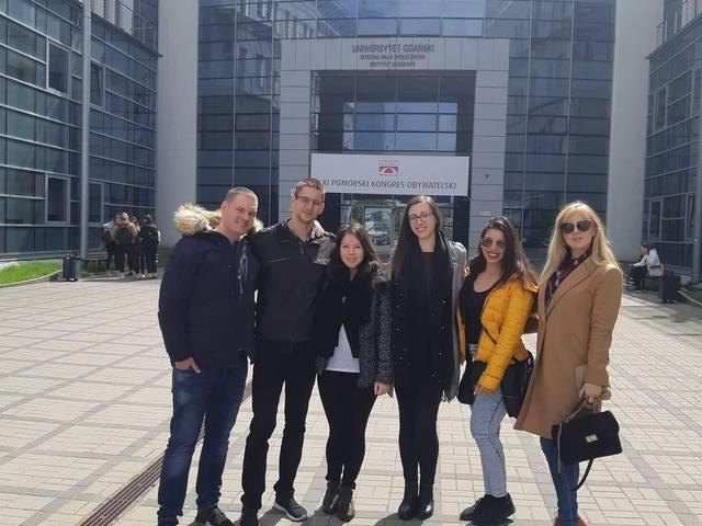 A Gdanski Tudományegyetem Társadalomtudományi Karán jártunk
