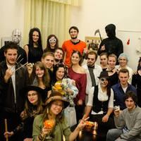 Halloween-est az Eötvös koliban