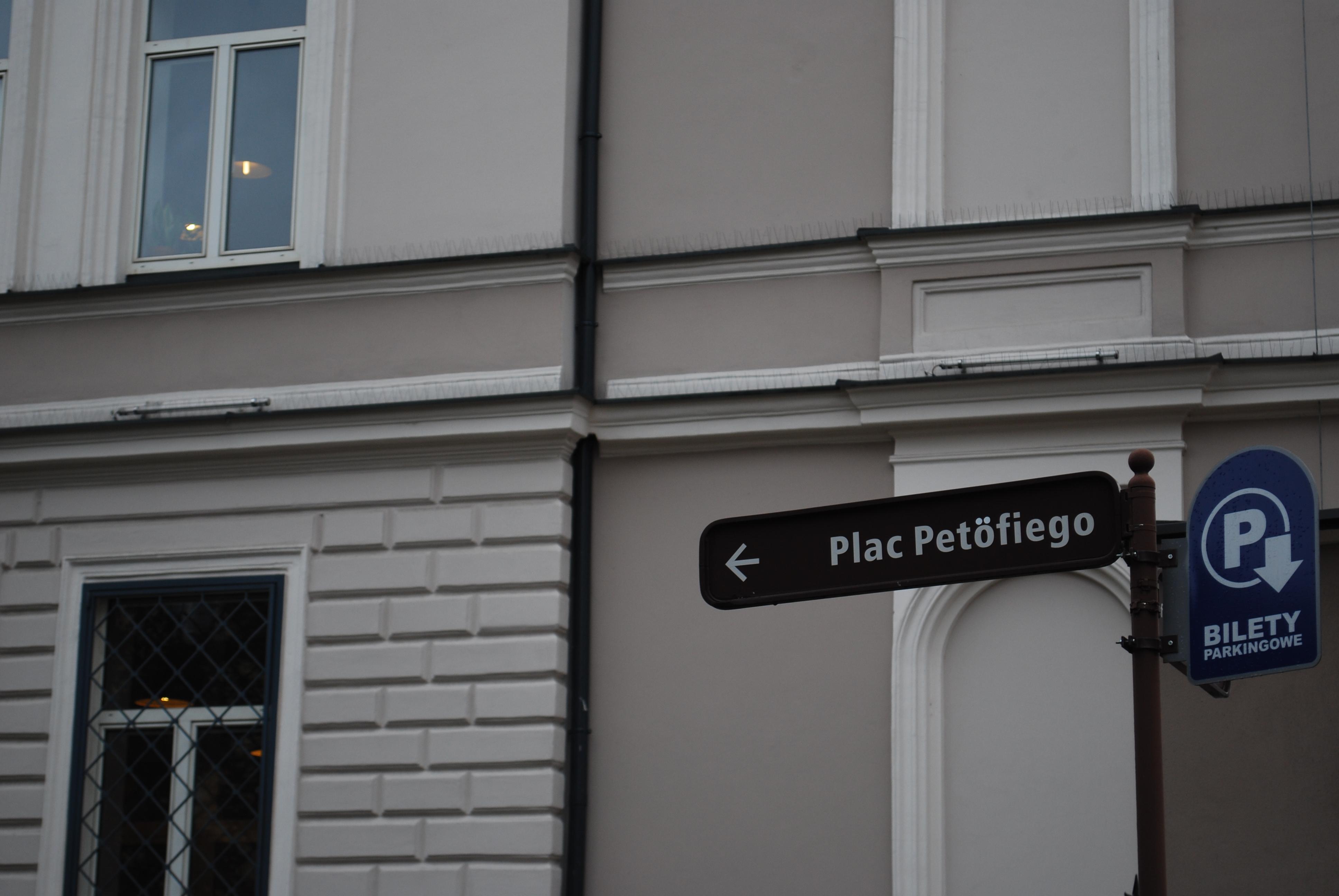 Minden városnak kell egy Petőfi utca, pont.