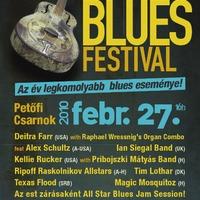 Mindig jó volt és rossz még sose – Bluesfesztivál a PeCsában - 2010