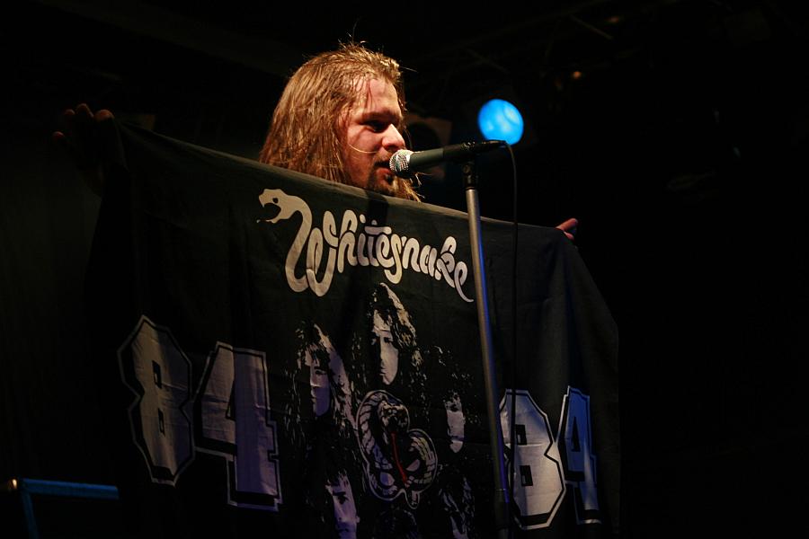Whitesnake zászló - Daczi Zsolt RIP