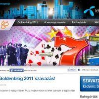 Elindult a Goldenblog szavazás, pécsi bloggerek figyelem!