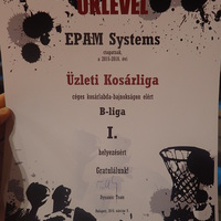 Act as a team, or playing basketball at EPAM Hungary